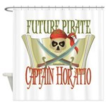 Captain Horatio Shower Curtain