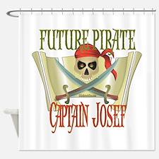 Captain Josef Shower Curtain