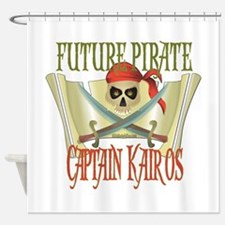 Captain Kairos Shower Curtain