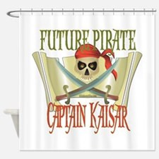 Captain Kaisar Shower Curtain