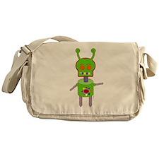 Android Alien Messenger Bag