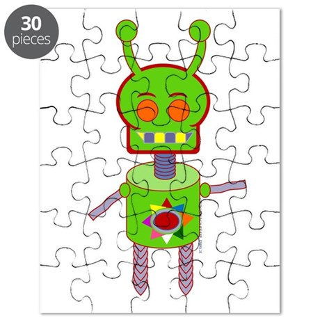 Android Alien Puzzle