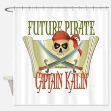 Captain Kalin Shower Curtain