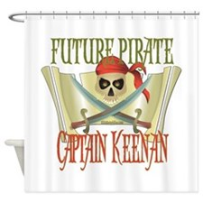 Captain Keenan Shower Curtain