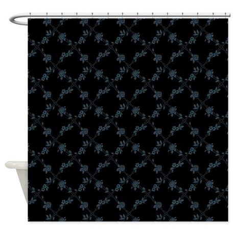Flowers and Vines Shower Curtain