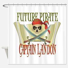 Captain Landon Shower Curtain