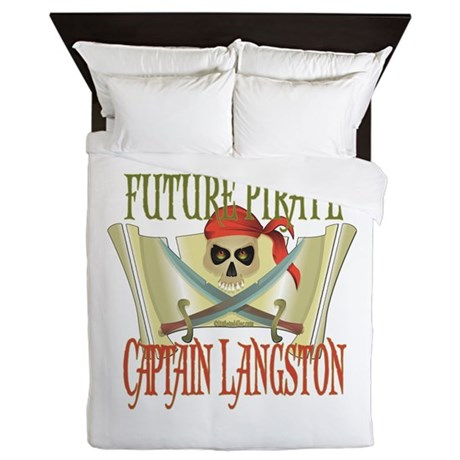 Captain Langston Queen Duvet