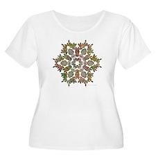 Moose Snowflake T-Shirt