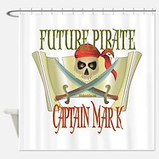 Captain Mark Shower Curtain