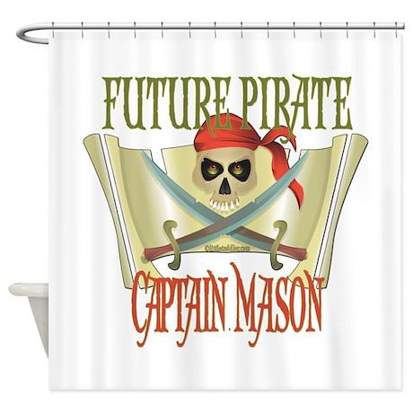 Captain Mason Shower Curtain
