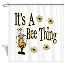Bee Thing! Shower Curtain