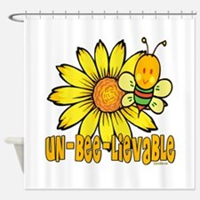 Un-Bee-lievable Shower Curtain