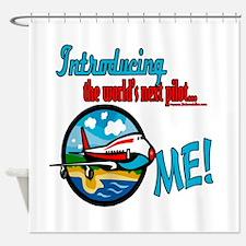 Future Pilots Shower Curtain