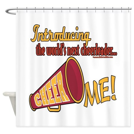 Future Cheerleaders Shower Curtain