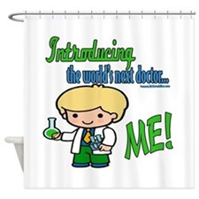 Future Doctor Shower Curtain