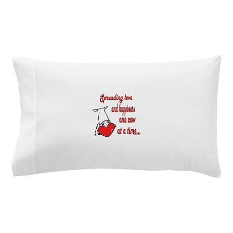 Spreading Love Cows Pillow Case