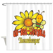 Unbelievable Housekeeper Shower Curtain