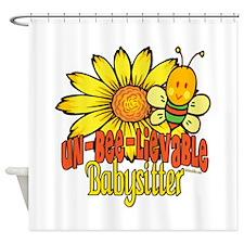 Unbelievable Babysitter Shower Curtain
