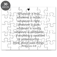 Philippians 4:8 Puzzle