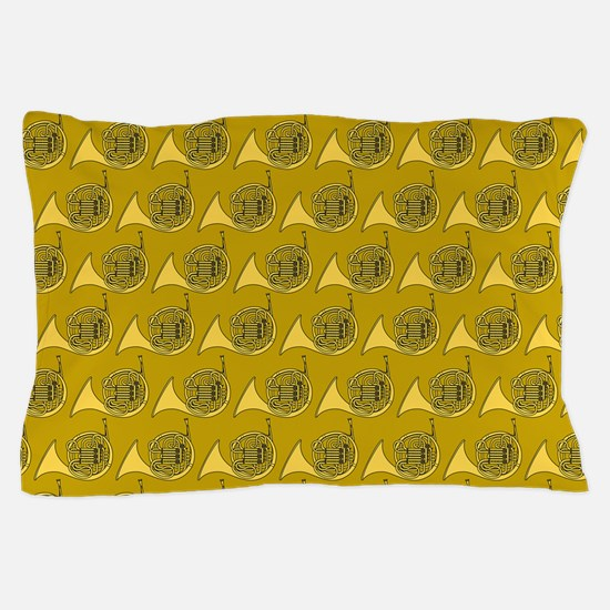 French Horn Music Pillow Case
