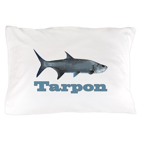 Record Tarpon Pillow Case