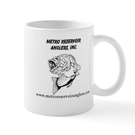 Small Mug - MRA Name, Fish, website on one side