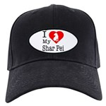 I Love My Scottish Terrier Black Cap