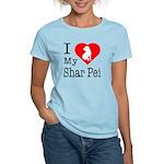 I Love My Shar Pei Women's Light T-Shirt