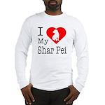 I Love My Scottish Terrier Long Sleeve T-Shirt