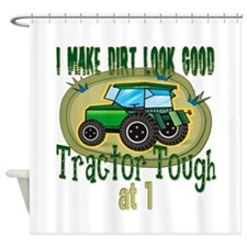 Tractor Tough 1st Shower Curtain