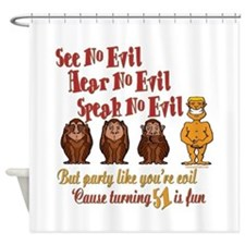 Party 51st Shower Curtain