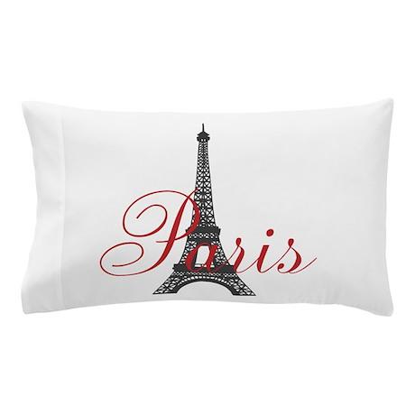 Paris Always (rouge) Pillow Case