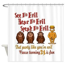 Party 21st Shower Curtain