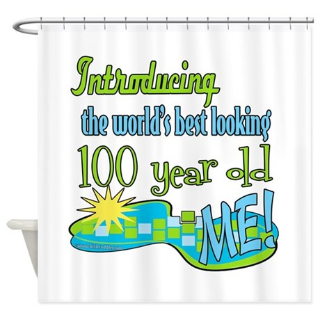 Best Looking 100th Shower Curtain