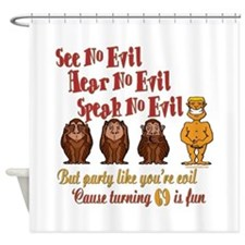 Party 69th Shower Curtain