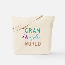 Gram Tote Bag