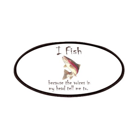 I Fish Patches
