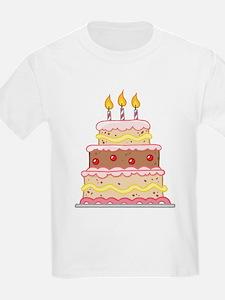 3rd Birthday Cake Gift T-Shirt