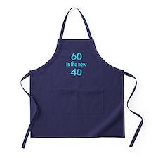 60 is the new 40 Apron (dark)