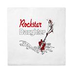 Rockstar Daughter Queen Duvet