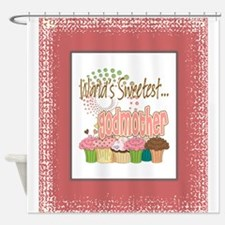 Sweetest Godmother Shower Curtain