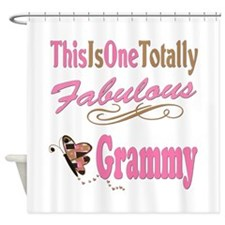 Totally Fabulous Grammy Shower Curtain