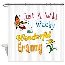 Wild Wacky Grammy Shower Curtain