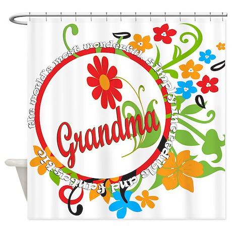 Wonderful Grandma Shower Curtain