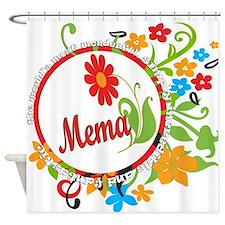 Wonderful Mema Shower Curtain