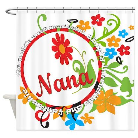 Wonderful Nana Shower Curtain