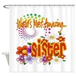 Most Amazing Sister Shower Curtain