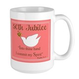 Catholic nun 50th jubilee Large Mugs (15 oz)