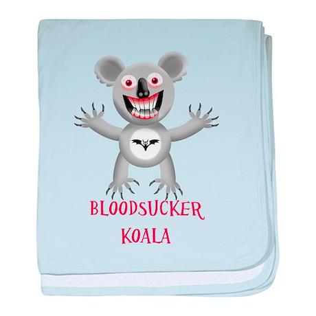 Bloodsucker Koala baby blanket