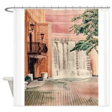 Cool Train station Shower Curtain